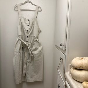 Universal Thread Midi Button-Down Dress